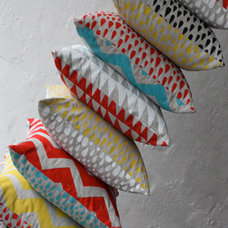 Modern Decorative Pillows by Harvest Textiles