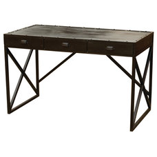 Industrial Desks And Hutches by Masins Furniture