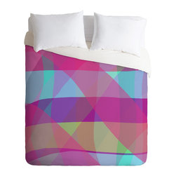DENY Designs - Paula Ogier Mad for Plaid Duvet Cover - Turn your basic, boring down comforter into the super stylish focal point of your bedroom. Our Luxe Duvet is made from a heavy-weight luxurious woven polyester with a 50% cotton/50% polyester cream bottom. It also includes a hidden zipper with interior corner ties to secure your comforter. it's comfy, fade-resistant, and custom printed for each and every customer.