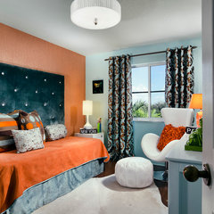 contemporary bedroom by Decorating Den Interiors - Susan Sutherlin