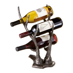 Oh, Deer Bottle Holder - Oh, dear, how will you choose which wine bottle to showcase with this antler holder? Only the finest, of course.