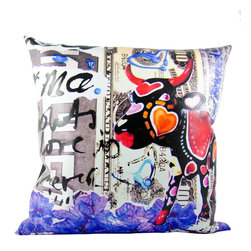 "Defy Brands, Inc. - Pillow, Decorative Pillow, Accessories - Fresh, Modern and so Fashionably Fun.  Tomorrow's look – without the wait.  Defy Brands exclusively offers you our new brand by Paulina from Our Latin-Inspired ""Abstract Pillow Collection."""