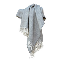 100% Alpaca Throw Blanket Grey - Keep yourself warm and cozy while you Adorn any room with this Charming throw