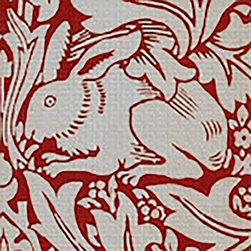 "The Art Needlepoint Company - Art Needlepoint Brer Rabbit Mini Kit - Fabulous - easy - and a great choice if you are on the go or want a small sophisticated piece to practice some stitches.  Kit includes a detail from Brer Rabbit by William Morris measuring 5"" x 5"" on 14 mesh and all the silk threads needed to complete, needle and print for reference. This is an unfinished product that requires needlepoint stitching."