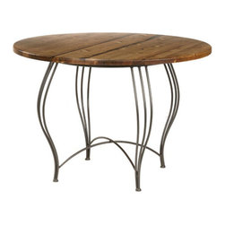 Bella Breakfast Table by Stone County Ironworks - By Stone County Ironworks