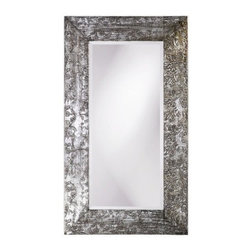 "Howard Elliott - Napier Wall Mirror - Features: . -Lido Collection. -Available in: . -Dark Mahogany . -Pearl White . -Bathroom vanity mirror. -Available Sizes: 24"", 30, 36"" Overall Dimensions: . -24"": 27"" H x 20"" W x 5"" D. -30"": 34"" H x 43"" W x 5"" D. -36"": 39"" H x 49"" W x 5"" D For more information on this product please view the specification sheet seen below."