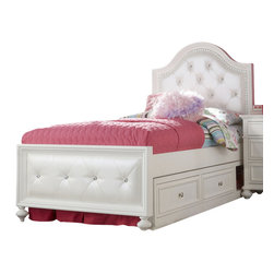 Legacy Classic Kids - Legacy Classic Kids Madison Upholstered Twin Bed w/ Underbed Storage - Legacy Classic Kids Madison Upholstered Twin Bed w/ Underbed Storage