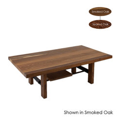 Lima Coffee Table, Seared Oak/Large