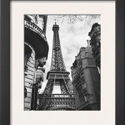 Artcom - Eiffel Tower I by Alison Jerry Artwork - Eiffel Tower I by Alison Jerry is a Framed Art Print set with a SOHO Thin wood frame and a Polar White mat.