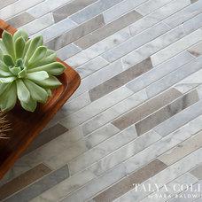Contemporary Tile by Sara Baldwin Design