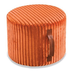 Missoni Home - Missoni Home | Coomba Orange Cylinder Pouf - Design by Rosita Missoni.