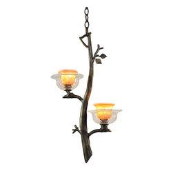 Kalco Lighting - KALCO Lighting 2519SB/ART Cottonwood Sienna Bronze Mini Pendant - KALCO Lighting 2519SB/ART Cottonwood Sienna Bronze Mini Pendant