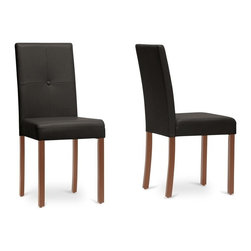 Wholesale Interiors - Curtis Contemporary Dining Chair - Set of 2 - Set of 2