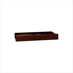 Bush - Bush Northfield Wood Keyboard Tray in Harvest Cherry - Bush - Add Ons - EX17751 - Keep your keyboard in style with the Northfield Collection Keyboard Shelf and Pencil Drawer.