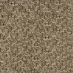 Khaki Beige Geometric Rectangles Durable Upholstery Fabric By The Yard - P9235 is great for residential, commercial, automotive and hospitality applications. This contract grade fabric is Teflon coated for superior stain resistance, and is very easy to clean and maintain. This material is perfect for restaurants, offices, residential uses, and automotive upholstery.