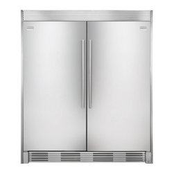 Fridgidaire Professional Series All Refrigerator - This refrigerator is a fairly well priced option for a large family kitchen. Each unit is either all refrigerator or all freezer.