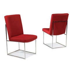 Thayer Coggin - Design Classic 1187 Armless Dining Chairs by Milo Baughman from Thayer Coggin - Thayer Coggin Inc.