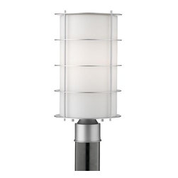 Philips Forecast Lighting - Hollywood Hills Outdoor Postmount by Philips Forecast Lighting - The Forecast Lighting Hollywood Hills Outdoor Postmount, part of the Hollywood Hills Ensemble, pairs etched glass with sleek metal for a fabulous 1930s design. The Hollywood Hills Outdoor Postmount features White Opal glass and comes in Vista Silver or Deep Bronze. Post not included. Dedicated to seeking customer feedback, Forecast Lighting has generated distinctive lighting designs that clearly stand out in a crowded marketplace. Founded in Southern California in the early 1970s as Forecast Lightolier, this unique lighting company has an in-house design team that travels the world to identify materials and trends that will ultimately result in extraordinary lighting for the home and office.