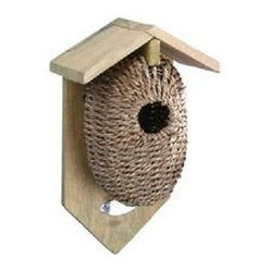 Nest Pocket Birdhouse, Seagrass