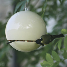 Contemporary Bird Feeders by HAUS