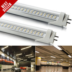 FREE SHIPPING DHL 8pcs 8 feet (2381mm) SMD LED Fluorescent Tube Lamp T8 33W - Introducing the latest in LED T8 tube technology, available for commercial and residential fluorescent tube replacements free from environmentally hazardous waste and achieves unmatched energy savings. This tube contains no mercury and is in accordance with CE and FCC testing standards in addition to being UL classified. Available in Pure White or Warm White with 120° beam angle.