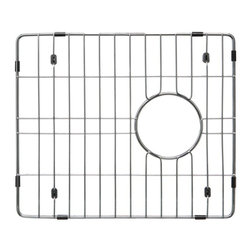 Ukinox - Ukinox GRS390SS Stainless Steel Bottom Grid - Extend the life of your sink with Ukinox's custom fit stainless steel sink grid. Sleek and durable, this grid is designed for high volume residential kitchen usage. Features: Protects the bottom of your sink from scratches. Makes sink easier to clean. Great for drying glasses. Great for rinsing vegetables. Great for thawing meats.  Specifications: Total Product Length: 13.375 in. Total Product Width: 15.75 in. Total Product Thickness: 1 in. Product Weight: 2 lbs. Material: Stainless Steel.
