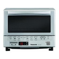 Panasonic Consumer - Flash Xpress Toaster Oven - Double infrared heating (Quartz & Ceramic)