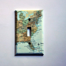 Contemporary Switch Plates And Outlet Covers by Etsy