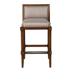 Vanguard Furniture - Vanguard Furniture Franklin Square Bar Stool 9702-BS-152068 - Vanguard Furniture Franklin Square Bar Stool 9702-BS-152068