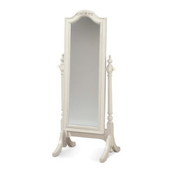 Universal - Smart Stuff - Gabriella Cheval Storage Mirror - Finally, your daughter has a place ...