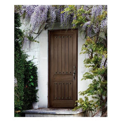 Rustic Series Doors - Rustic Series: Two Panel w/ Square Plank & Clavos