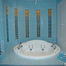 Modern Bathroom by Natalia Osipova (design studio TABITI)