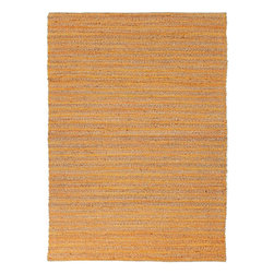 Jaipur - Natural Fiber Himalaya 5'x8' Rectangle Kiwest Orange-Kiwest Orange Area Rug - The Himalaya area rug Collection offers an affordable assortment of Natural Fiber stylings. Himalaya features a blend of natural Kiwest Orange-Kiwest Orange color. Flat Weave of 60% Jute 40% Cotton the Himalaya Collection is an intriguing compliment to any decor.