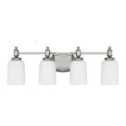 Capital Lighting - Capital Lighting Covington Transitional  Bathroom Light X-201-NA4448 - Capital Lighting Covington Transitional  Bathroom Light X-201-NA4448