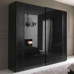 Nightfly Sliding 2 Door Wardrobe By Rossetto