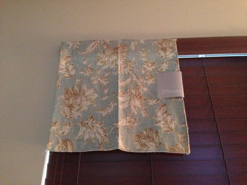 Homemade Valances For Windows : Homemade window treatments