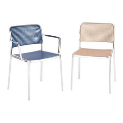 Audrey Chair 2 by Kartell - The new family of Audrey chairs adds a fabric version. A versatile contemporary chair of clean, simple