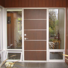 Contemporary Front Doors by Alfonso and Harmon Architects