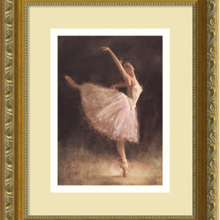 The Passion of Dance Framed Print by Richard Judson Zolan