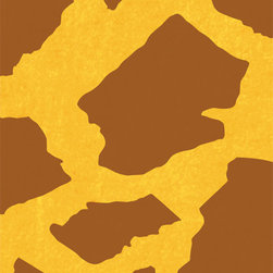 Stencil Ease - Giraffe Print Accent Stencil - Giraffe Print Accent Home Decor Stencil Contains: 1 - 5 x 7 Stencil Sheet Actual Size: 4 wide x 6 high These detailed laser-cut Accent Stencils can be used to embellish walls in bathrooms hallways bedrooms living rooms and more. Because of their smaller size they can also be used on tiles furniture lampshades and scrapbooking projectsAny paint can be used with these mylar stencils. This design was painted using the following Americana Acrylic Paint Color: 1 2oz MDA02163 Honey BrownComplete kit comes with stencil paints and 1 THW0006 stencil brush