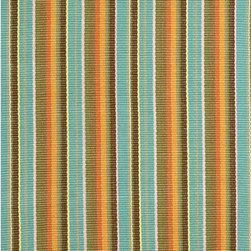 Area Rugs - Dash and Albert Spice Ticking Cotton Area Rugs.  Multiple sizes. J Brulee Home, Tucson, AZ