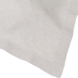 Huddleson Linens - Natural Undyed Linen Table Runner, 14x108 - Natural undyed pre-washed Italian linen napkin.  These pre-washed linen napkins are perfect for everyday dining or to dress the table for a special occasion.  Ever versatile, they complement any style of linen or china.  Machine washable, these napkins get even softer and more beautiful with use.  You're only committing to making mealtimes a little more special.    Machine washable.