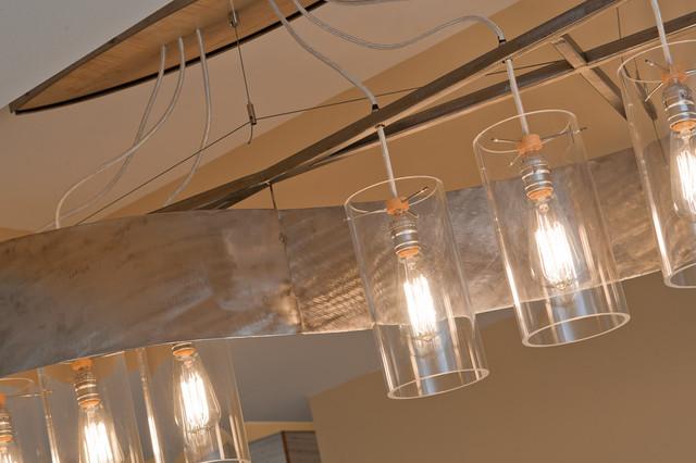 S-Curve Chandelier eclectic-ceiling-lighting