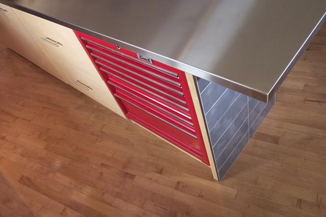 Toolbox Cabinet - Modern - Kitchen - edmonton - by Habitat Studio