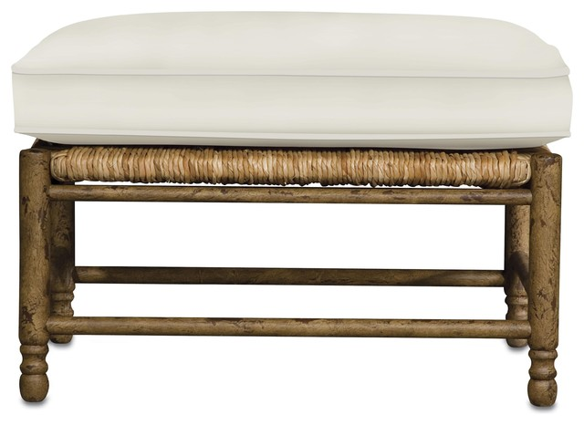 Currey and Company Avignon Ottoman traditional-footstools-and-ottomans