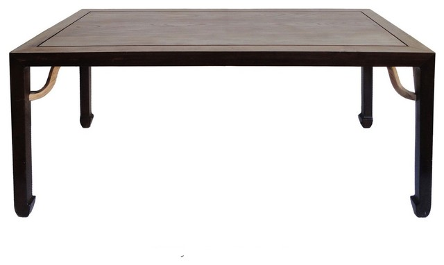 Chinese Rectangular Oriental Long Drawing Dining Table  : rustic dining tables from www.houzz.com size 640 x 382 jpeg 21kB