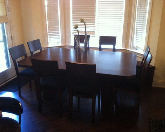 Past Projects - Alder Dining Set