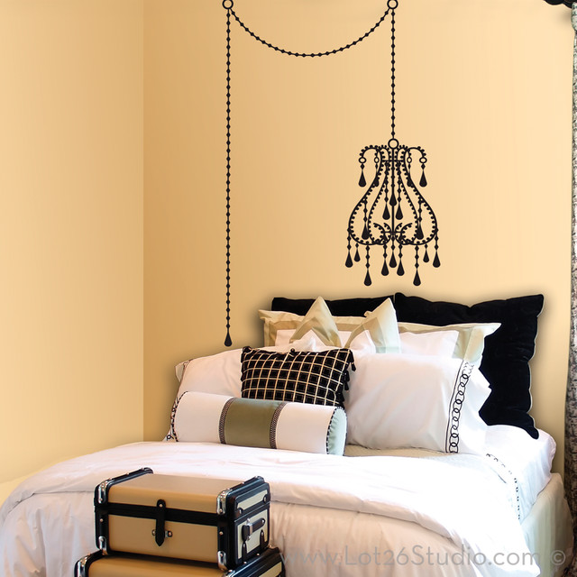 Wall Decal Vintage : Vintage Chandelier Wall Decal   Wall Decals   San  Francisco   By