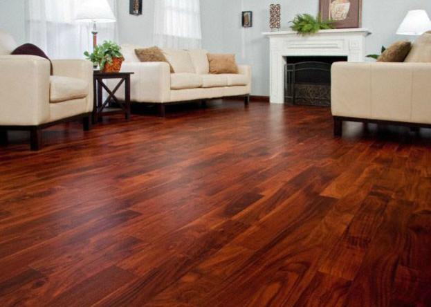 Brazilian Teak Hardwood Flooring With Golden 600x315 · Golden ... - Golden Teak Hardwood Flooring In A Bedroom Pictures To Pin On
