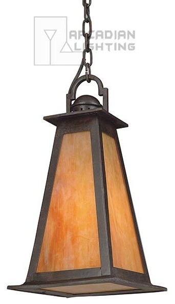 Troy Lighting F9887SBZ Lucerne Outdoor Hanging Lantern contemporary-ceiling-lighting